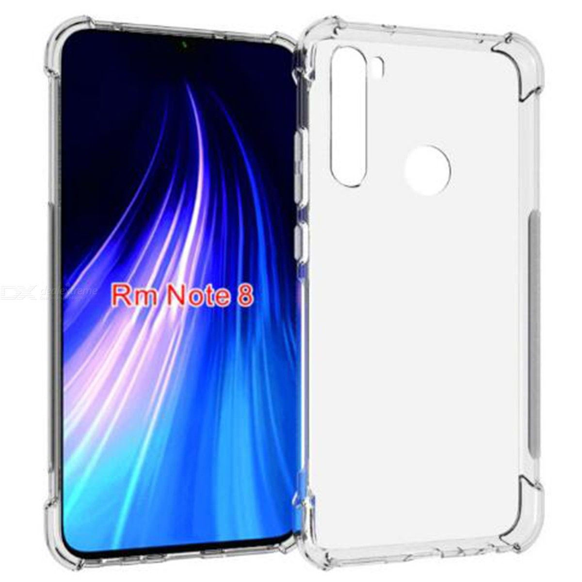 ASLING Four-corner Airbag Phone Case Protective Shell for Xiaomi Redmi Note 8