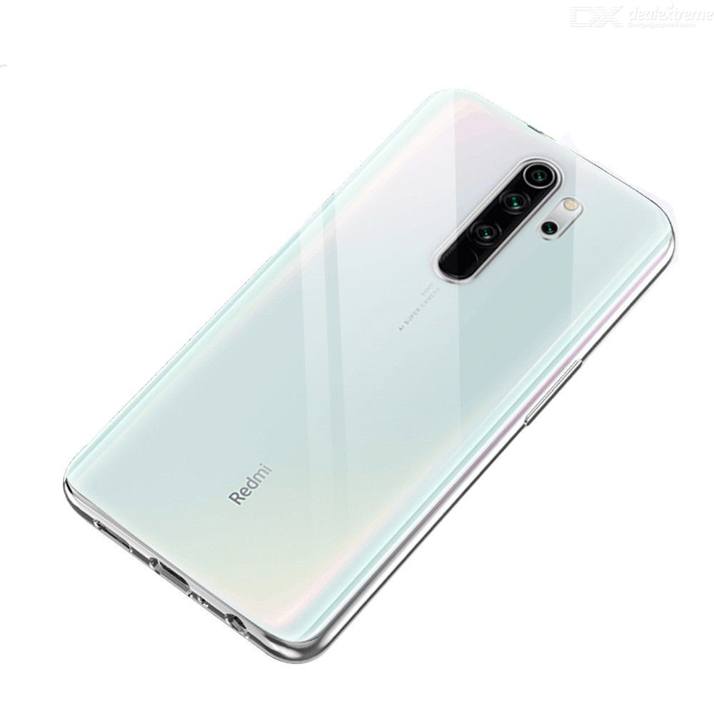 Dx coupon: Naxtop Soft Anti-Scratch TPU Cover Protective Phone Case For Xiaomi Redmi Note 8 Pro