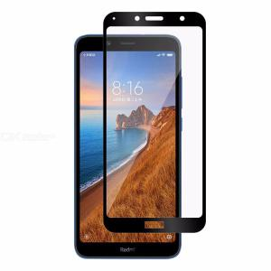 CHUMDIY 2.5D Tempered Glass Screen Protector Full Cover Front Film for Xiaomi Redmi 7A