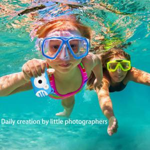 WD09 Kids Camera Creative Waterproof Camcorder For Children Toddlers
