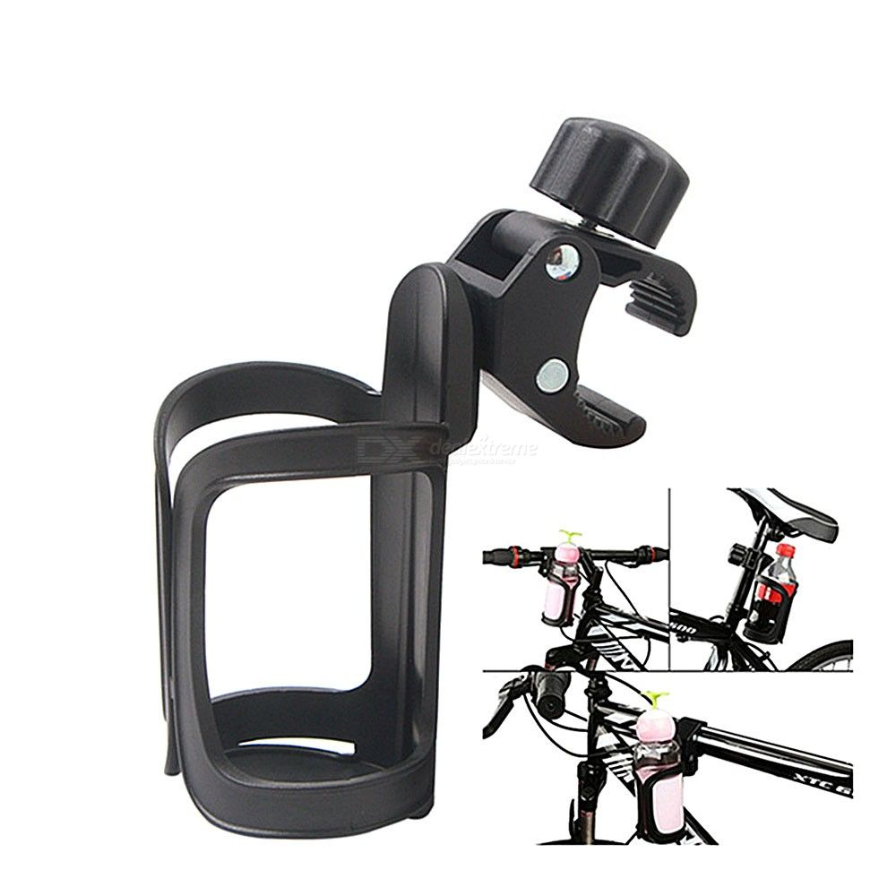 Universal Bicycle Bottle Holder 360 Degree Rotary Water Cup Fixer For Mountain Bikes Strollers