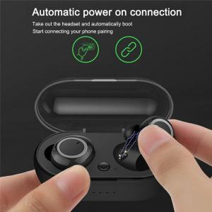 SQ W1 Mini TWS Wireless Earbuds Bluetooth Earphones V5.0 In-ear Gym Stereo Earbuds With Charging Case