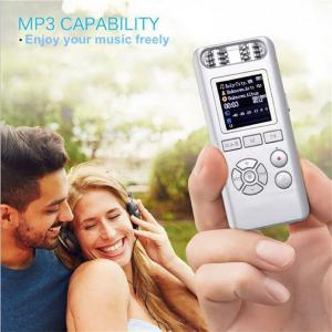 Quelima 619 Professional 8GB Digital Recorder Pen Micro Noise Reduction MP3 Player