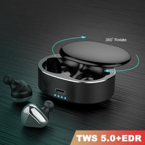 MOOJECAL 6D Wireless Earbuds Bluetooth V5.0 Earphones Stereo And Enhanced Bass For IPhone Xiaomi Huawei