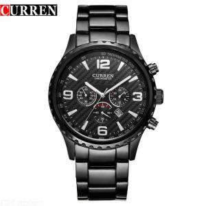 New CURREN Top Brand Luxury Relogio Masculino Casual Analog Date Display Men Sport Military Quartz Watch 8056