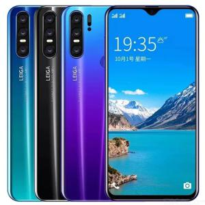 OBXIN P30 2019 6.5 Inch FHD Water Drop Screen Mobile Phone 3GB 32GB Dual SIM Android 2100MP Cam 5800mAh