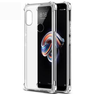 Naxtop Slim Soft Clear TPU Silicone Phone Case for Xiaomi Redmi Note 7 Pro / Note 7 / Note 7S / Note 6 Pro / Note 5 Pro