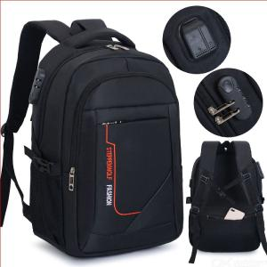 Men's Business Backpack Multifunction Travel Laptop Backpack With Anti-Theft Lock USB Charging Port