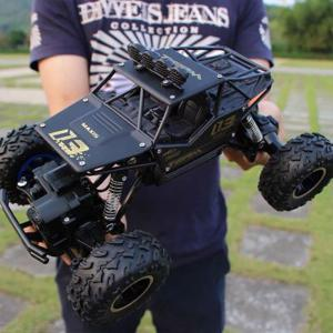RC Auto 1: 12 4WD 2.4G Radio Afstandsbediening Truck Hoge Snelheid Off-Road Monster Truck Met Lights Children Toys Update-versie