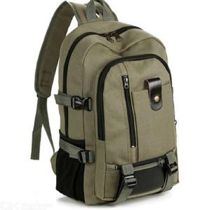 Men's Laptop Backpack Retro Casual Canvas Travel School Backpack