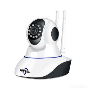Hiseeu 1080P WiFi IP Camera, Wireless Home Security Surveillance Camera Night Vision 2.0MP Baby Monitor CCTV Cam