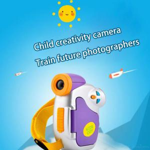 Fun Kids Camera 5MP HD Digital Video Cameras Child Creativity Camcorder Creative Gifts For Boys Girls