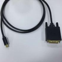 4K-USB-C-To-DVI-Cable-HD-USB-31-Type-C-To-DVI-Adapter-18m-Black