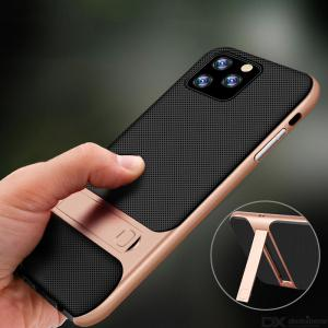 Naxtop 2 in 1 Soft Case Protective Back Cover With Invisible Bracket For Apple iPhone 11 Pro Max / iPhone 11 Pro / iPhone 11