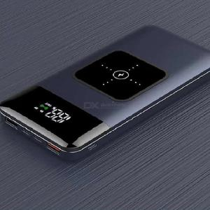 OJD-S2 15000mAh Portable Power Bank 5V/3A 18W Dual USB Port Wired Charging Wireless Charging
