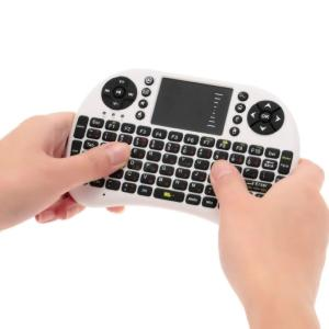 Russian 2.4G Mini USB Wireless Keyboard with Touchpad, Air Fly Mouse Remote Controller for Android Windows TV Box Smart Phone