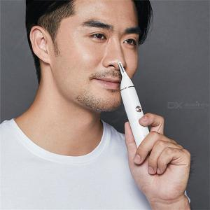 Xiaomi Soocas IPX5 Waterproof Nose Ear Hair Trimmer Hairdressing Blade Cordless Safety Cleaner