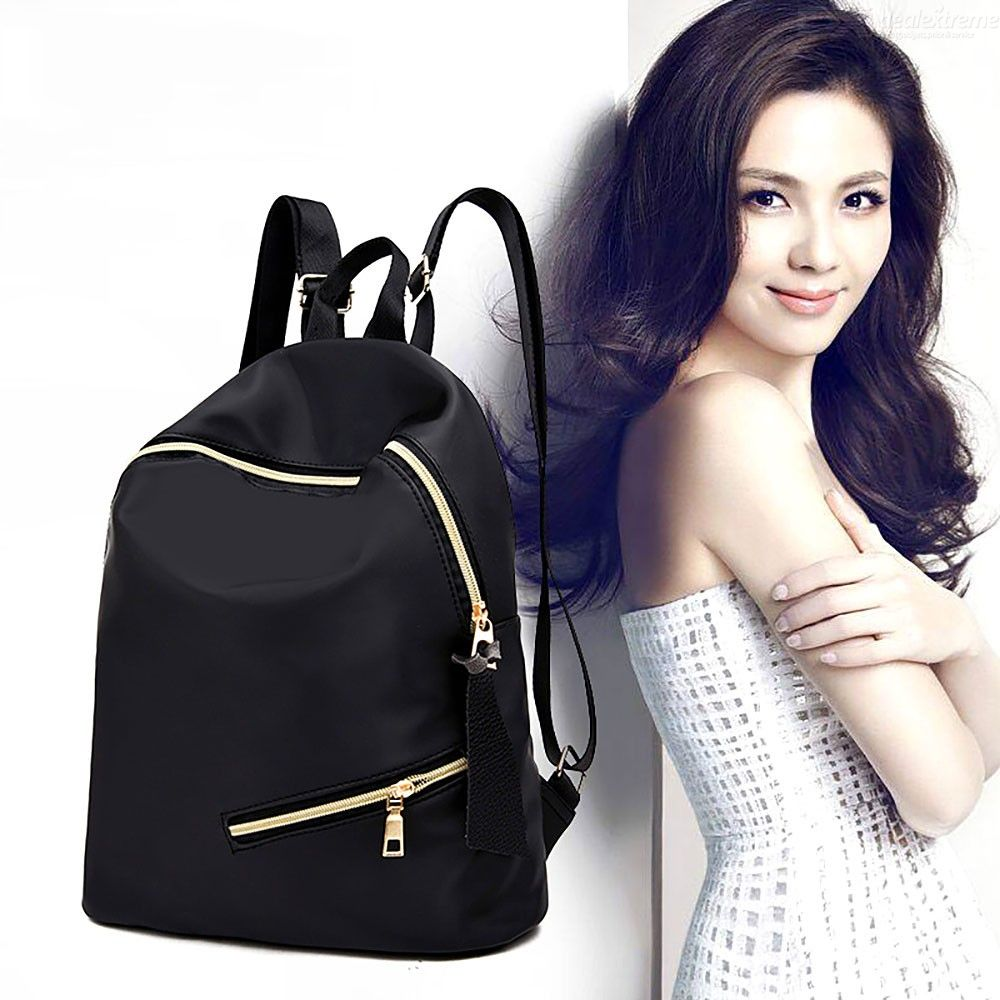 Fashion Female Oxford Backpack Casual All-match Double Shoulder Bag For Women