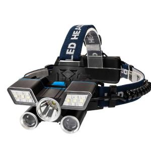 Outdoor Headlamp Flashlight LED Headlamps Bright USB  Rechargeable Waterproof 5 Heads Headlight For Camping Fishing Emergency