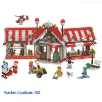 Building-Blocks-Christmas-Theme-Educational-Toys-With-492-Blocks-For-Boys-Girls-5-Years-And-Over
