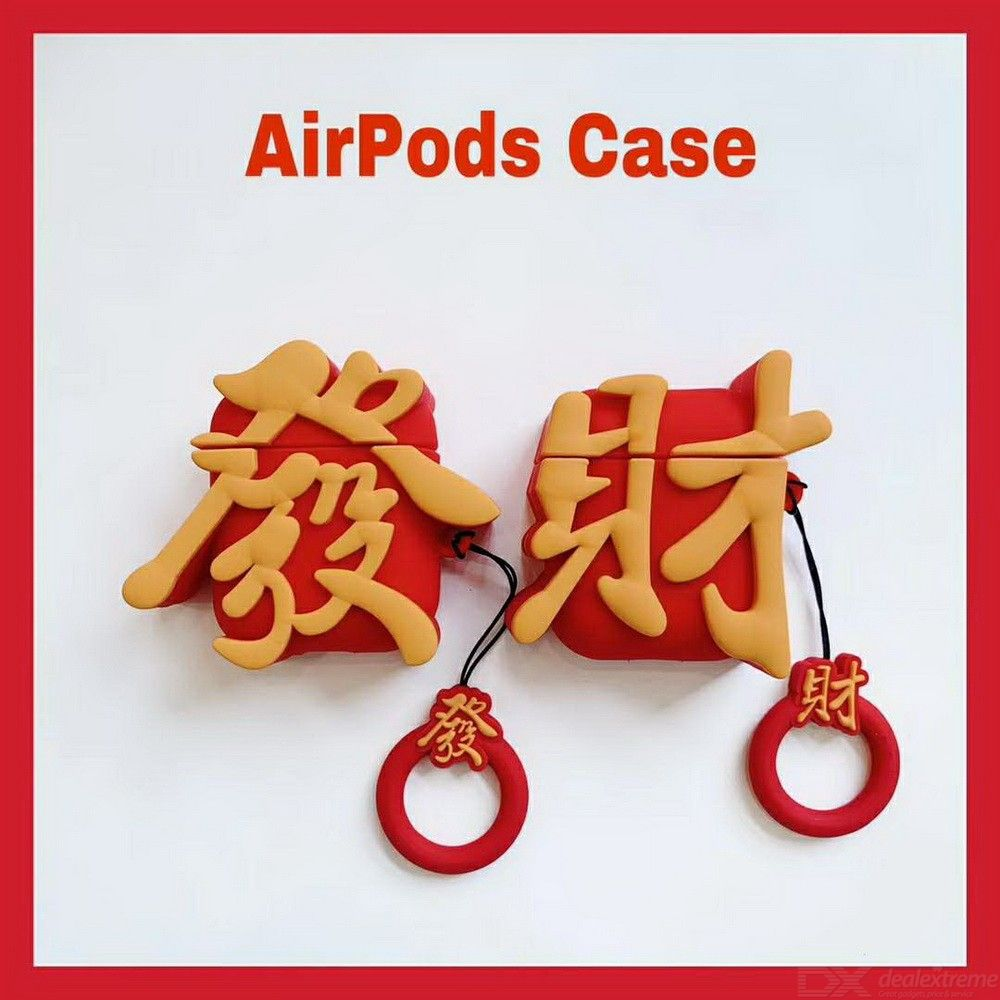Silicone Protective Cover For AirPods Charging Case Scratch-Resistant Shock-proof Case Skin For AirPods 1/2