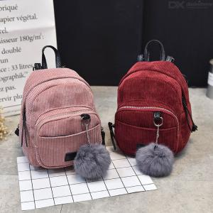 Female Retro Backpack Casual All-match Double Shoulder Bag For Women Ladies