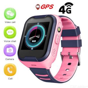 Greentiger A36E 4G Network Wifi GPS SOS Smart Watch Kids Video Call IP67 Waterproof Alarm Clock Camera Baby Watch