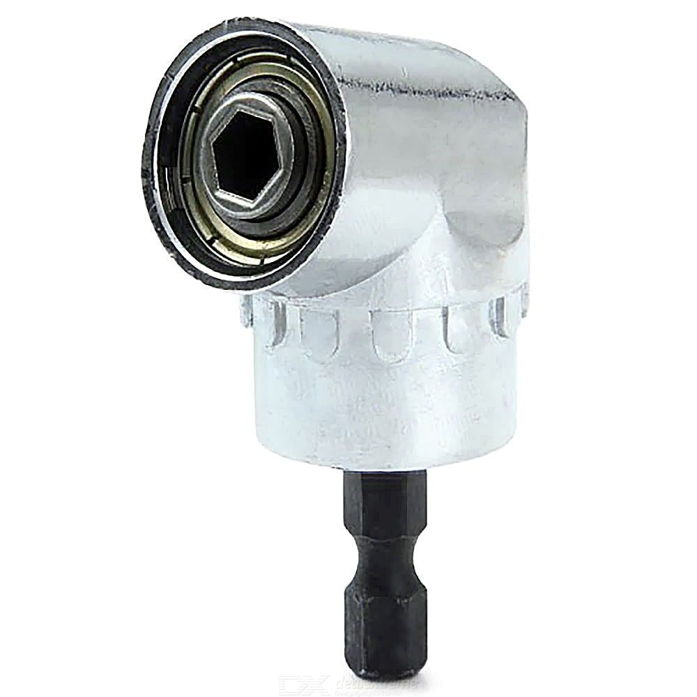 Dx coupon: Right Angle Drill 105 Degree Turning Bit Extension 0.25 Inch 6mm Hex Drill For Tight Corner Workspace
