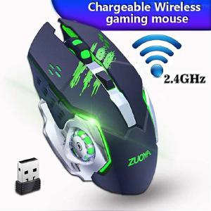 Gaming Mouse 2.4G Wireless Mouse With Backlit 3 DPI Levels