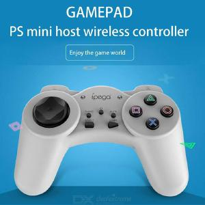 PG-9122 Wireless Game Controller Bluetooth Wireless Gamepad With Turbo And Auto Functions Compatible With PS Mini