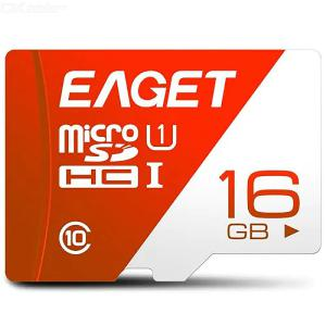 EAGET T1 High Speed ​​UHS - I 16GB / 32GB / 64GB / 128GB Flash TF Memory Card