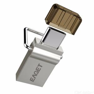 EAGET CU10 Premium 16GB / 32GB / 64GB USB 3.0 To Type-C Flash Drive U Disk