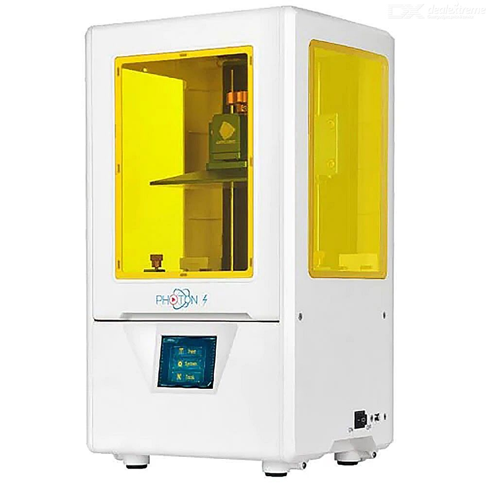 Anycubic Photon S 2.8 Inch LCD 3D Printer With Quick Slicing 2K Screen 405nm Matrix UV Light Dual Z Axis SLA DLP - US Plug