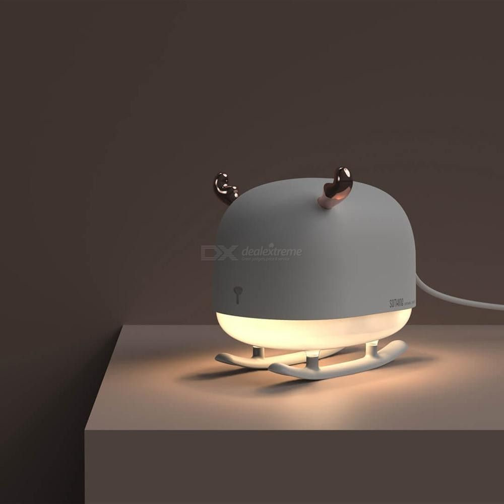 White USB Simple Portable Color Atmosphere Lights LED,Car Computer and Other USB Jack Scene Compact Portable,2g Home