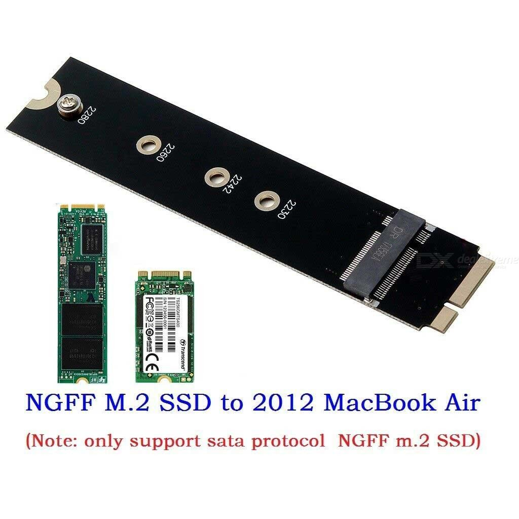 Aluminum HDD Enclosure SSD to USB3.0 For 2012 MACBOOKAIR A1465 A1466 MD223 MD231