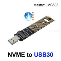 NVMe-SSD-To-USB-30-Adapter-Converter-For-PCIE-M2-2280-SSD-External-Drive