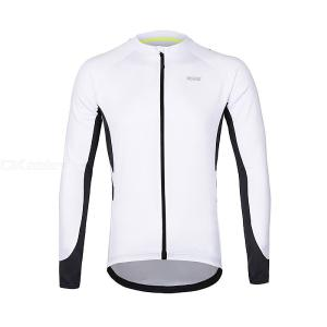 ARSUXEO Cycling Jacket Outdoor Windproof Water Resistant Softshell Coat