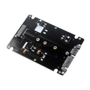 Add On Cards M.2 SATA Adapter M2 To SATA Adapter NGFF SSD To SATA Adapter - Black