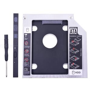 Universal Hard Drive Caddy Tray SATA III HDD SSD Enclosure Case For 9.5mm CD/DVD Drive 2.5 Inch 7mm 9mm SSD