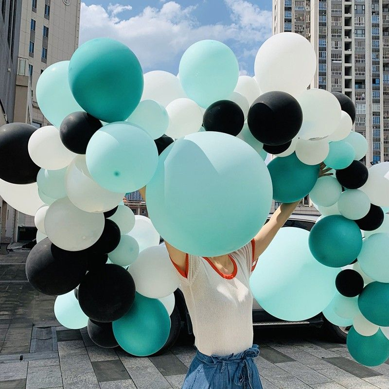 116Pcs Macaron Color Latex Balloon Arch Garland Kit For Wedding Birthday Party Decoration
