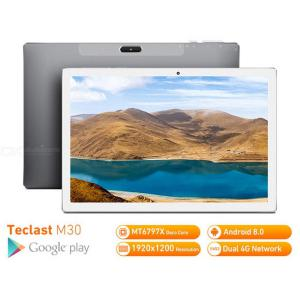 Teclast M30K64 3GB RAM 64GB ROM 10.1 Inch Tablet PC EU Plug Android 8.0 2560 X 1600 MT6797 X27 Deca Core 4G Phone Tablet