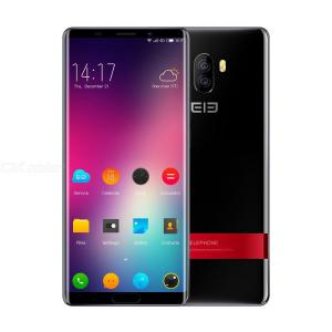 Elephone P11 4G Phablet 4GB RAM 128GB ROM 16.0MP Rear Camera Fingerprint Sensor - Black