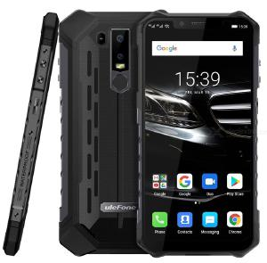 Ulefone Armor 6E IP68 Waterproof Mobile Phone Helio P70 4GB+64GB 6.2 inch Face Unlock 16MP Dual Rear Camera