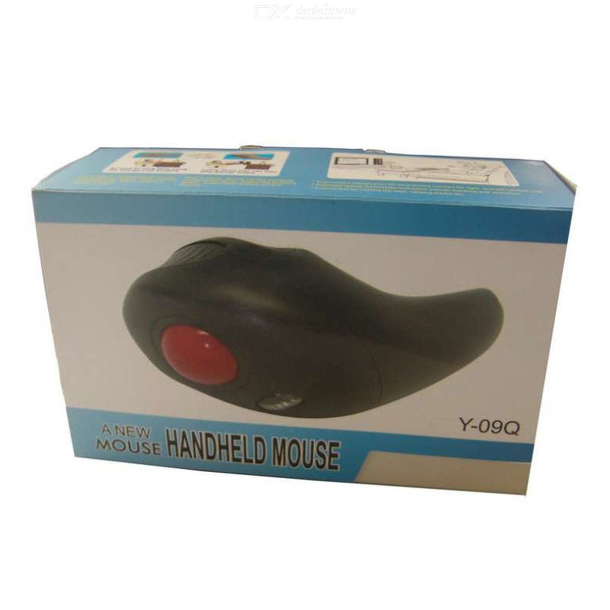 Y-09Q Trackball Mouse 2.4G Wireless Mouse With USB Receiver