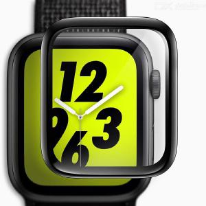3D Full Cover Tempered Glass Screen Protector Film For Apple Watch 38mm / 40mm / 42mm / 44mm iWatch Series 4 / 3 /  2 / 1