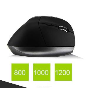 Digital Scroll Endurance Wireless Mouse Ergonomic Vertical USB Mouse With Adjustable Sensitivity