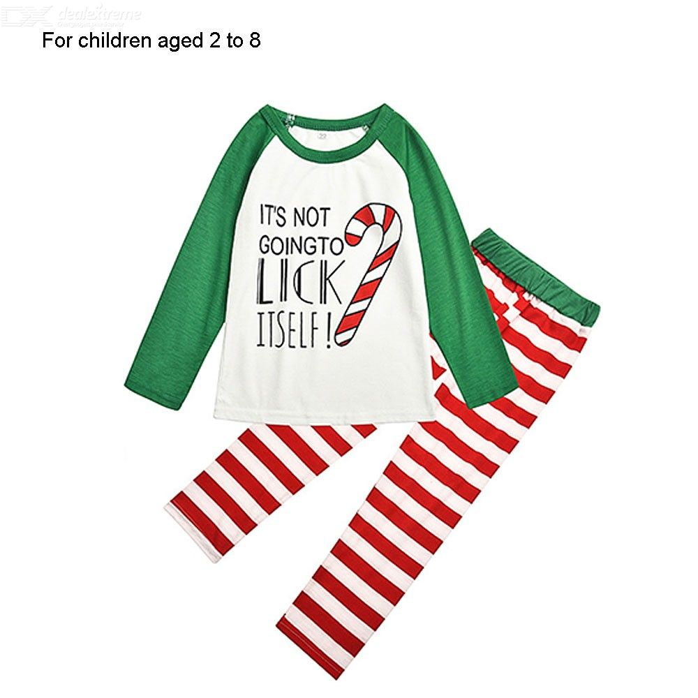 Sleepwear | Christmas | Pajamas | Family | Pajama | Cotton | Print | Kid | Set