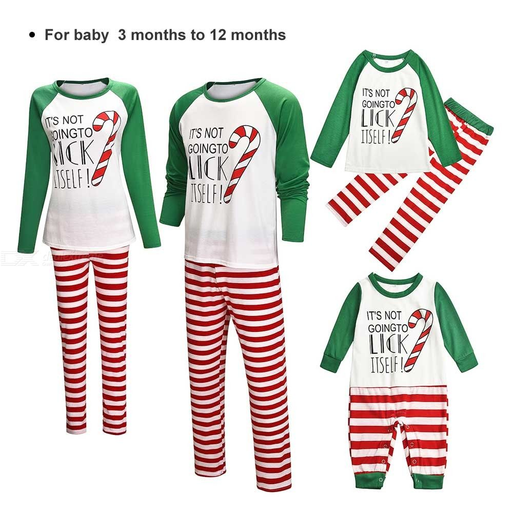 Sleepwear | Christmas | Pajamas | Family | Pajama | Cotton | Print | Baby | Set