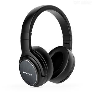 AWEI A950BL Wireless Headphones Bluetooth Earphone Active Noise Cancelling Stereo Gaming Headset With Mic