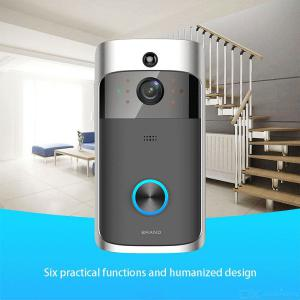 Smart Electric Wireless Doorbell HD WiFi Security Video Door Bell Remotr Phone Control